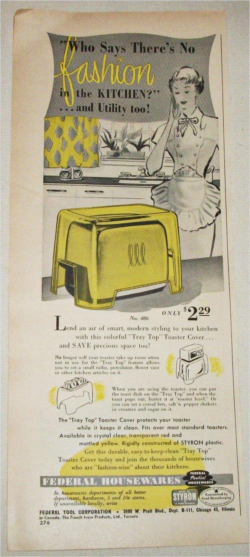 1951 Federal Housewares ad