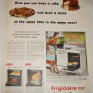 1951 Frigidaire Electric Ranges ad
