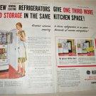 1947 GE Refrigerator ad