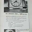 1949 GE Morning Star Alarm Clock ad