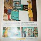 1963 GE Americana Oven ad #1