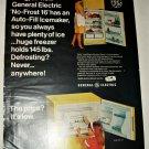 1966 GE Refrigerator ad