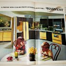 1968 GE Harvest Colored Appliances ad