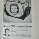 1951 General Mills Automatic Toaster ad