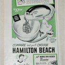 1951 Hamilton Beach Electric Mixer ad