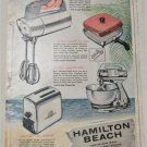 1958 Hamilton Beach Appliances ad