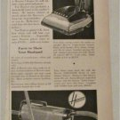 1951 Hoover Vacuum Cleaners ad