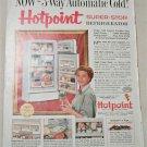1955 Hotpoint Super Stor Refrigerator ad