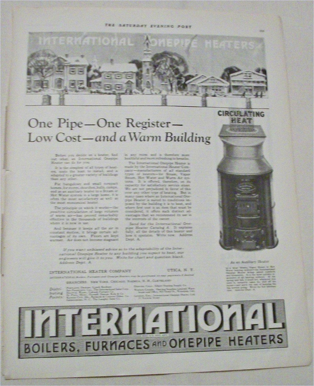1924 International Heater Company ad