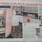 1955 Kelvinator Refrigerators ad