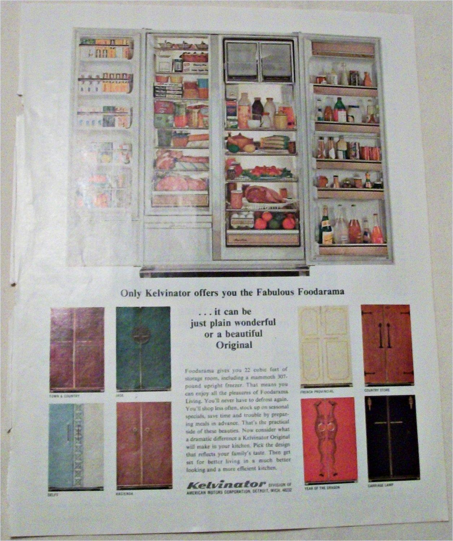 1966 Kelvinator Foodarama Refrigerator ad