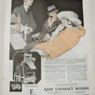 1921 1900 Cataract Washer ad
