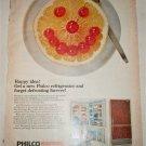 1966 Philco No Frost Refrigerator ad