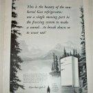 1951 Servel Gas Refrigerator ad