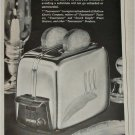 1951 Toastmaster Automatic Pop Up Toaster ad