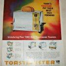 1962 Toastmaster Toasters ad