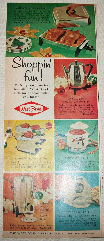 1962 West Bend Appliances ad