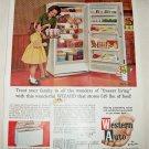 1962 Western Auto Wizard Freezer ad