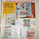 1963 Western Auto Refrigerators ad
