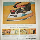 1958 Westinghouse Steam-N-Dry Iron ad