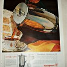 1961 Westinghouse Coffeemaker ad