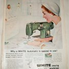 White Sewing Machine ad