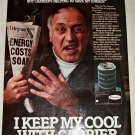 Carrier AC ad featuring Vic Tayback