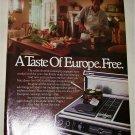 1987 Jenn-Air S100 Grill Range ad