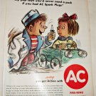 1961 AC Fire-Ring Spark Plugs ad #2