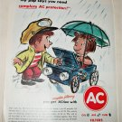 1962 AC Fire-Ring Spark Plugs ad #2