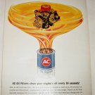 1964 AC Oil Filter ad