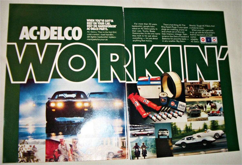 1981 AC-Delco Parts ad