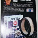 1987 AC-Delco Parts ad featuring Chuck Yeager