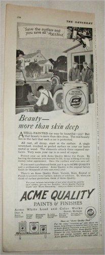 1920 Acme Car Finish ad
