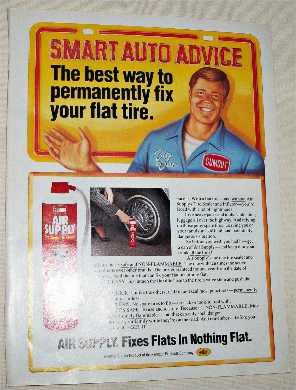 1987 Air Supply Tire Sealer ad