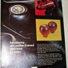 Amco Leather Grained Shift Knob ad