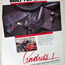 1987 Andretti Signature Series Motoring accessories ad