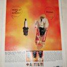 1963 Auto-Lite Mileage Spark Plug ad