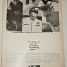 1965 Auto-Lite Power Tip Spark Plugs ad featuring Dan Gurney