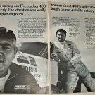 1969 Auto-Lite Spark Plugs ad featuring Junior Johnson & Lee Roy Yarbrough