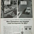 1956 Champion Spark Plugs ad #2
