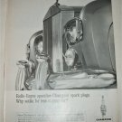 1963 Champion Spark Plugs Rolls Royce ad
