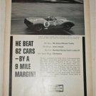 1963 Champion Spark Plugs ad featuring Innes Ireland
