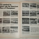 1968 Champion Spark Plugs ARRC ad