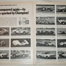1970 Champion Spark Plugs SCCA Report #6 ad