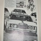 1978 Champion Spark Plugs ad featuring David Pearson