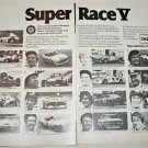 1978 Champion Spark Plugs Super Race V ad