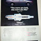 1984 Champion Spark Plugs Mazda ad
