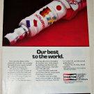 1984 Champion Spark Plugs World ad