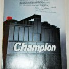 1985 Champion Battery ad